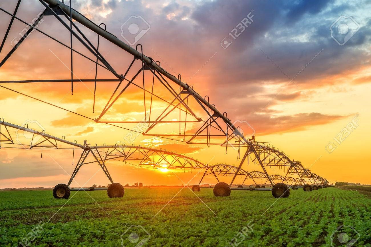 Irrigation pumping energy