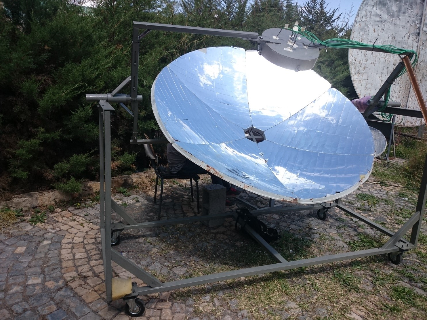 A ray tracer model for analysis of solar concentrating systems