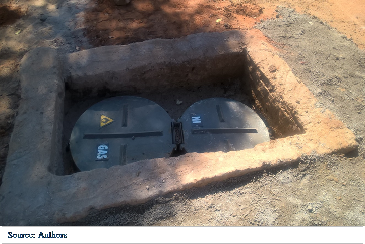 Biogas digester technology well adopted by small-scale farmers in the Free State Province, South Africa