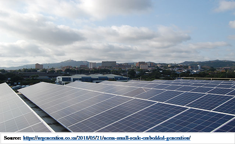 Small-scale embedded generation as an alternative for SMMEs to participate in renewable energy projects